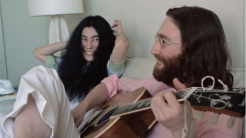 Watch this never-before-seen video of John Lennon and Yoko Ono