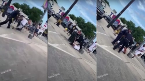 Off-Duty SWAT Cop Reportedly Caught on Video Hurling Man into Lamp Pole