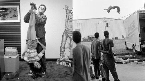 Les skateurs des années 1990, pas de smartphone, un peu d'ennui