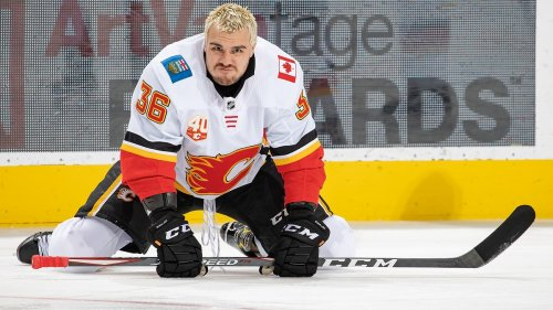 NHL Tough Guy Kicked Out of Training Camp Because He Won't Take a Shot