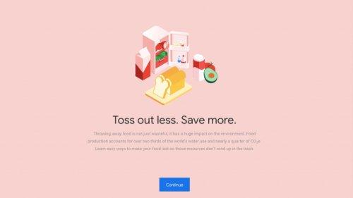 Google ha lanciato una piattaforma deliziosa sullo spreco di cibo