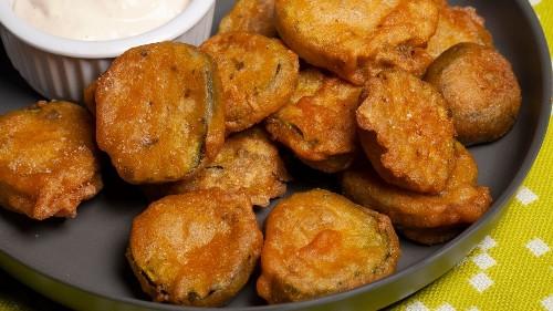 Vegan Fried Pickles Recipe