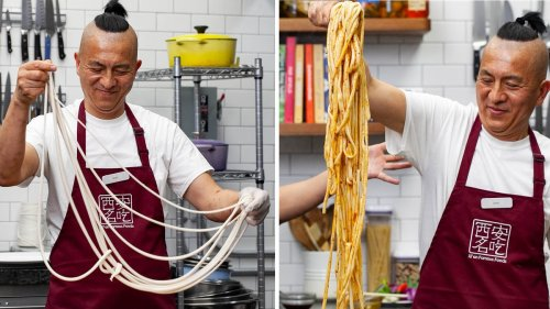 Hand-Pulled Longevity Noodles From Xi'an Famous Foods