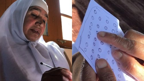 This Poet Never Went to School, so She Invented Her Own Alphabet to Write Poetry