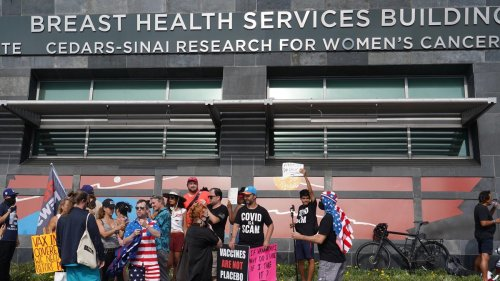 Breast Cancer Patient Attacked by Violent Anti-Mask Protest Outside Clinic