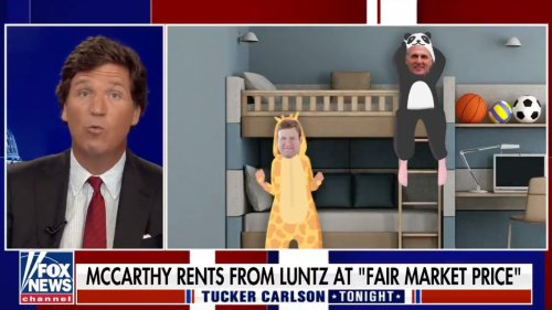 Tucker Carlson's New Favorite Enemy Is...GOP Leader Kevin McCarthy?