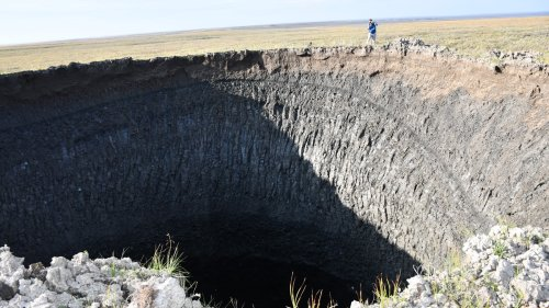 The Ground Is Literally Exploding Due to Climate Change In Siberia, And It's Going to Get Worse