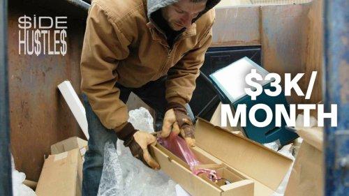 We Make $3K/Month Selling Trash
