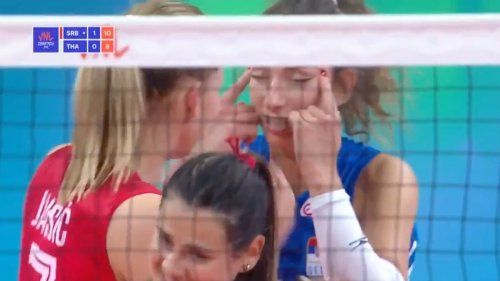 Volleyball Player Suspended For Racist Gesture During Match Against Thailand