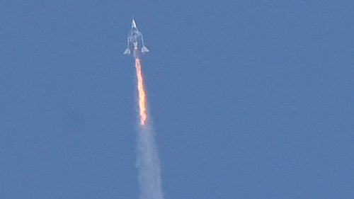 FAA Grounds Virgin Galactic After Red Warning Light During Branson's Flight