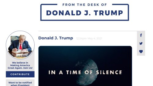 Donald Trump Launches Twitter Clone for Himself and Himself Alone