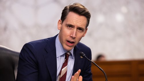 Josh Hawley Is Raking In Cash After Trying to Undermine the Election