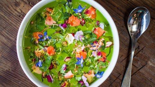 Gazpacho di Lattuga: la zuppa estiva verde