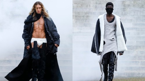 Rick Owens goes biblical for AW21