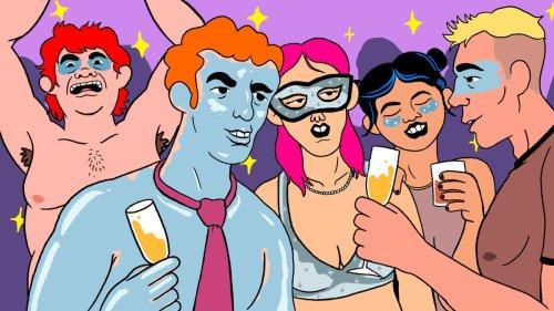 Dans les fêtes ultra secrètes de l'université d'Oxford