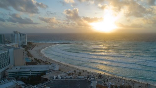 Narco Hitmen on Jet Skis Sprayed a Cancun Beach With Bullets Killing Two People