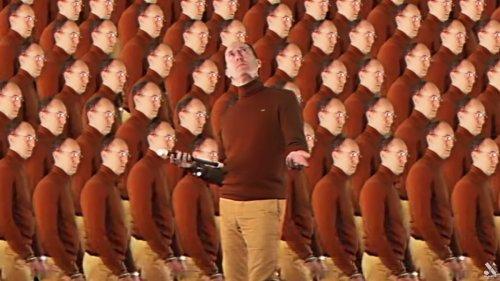 Avec le mec qui joue de la flûte dans le clip de Vladimir Cauchemar