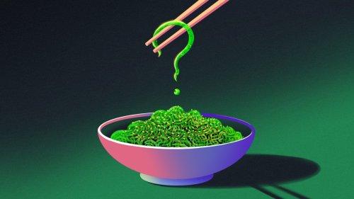 ¿De qué están hechas las ensaladas de wakame?