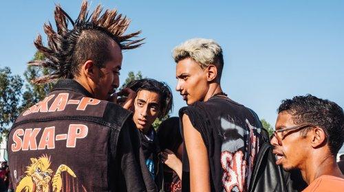 Fotos de punks y metaleros que mantienen la escena viva en Marruecos