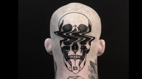 Don't Tell This Glitch Tattoo Artist What to Ink