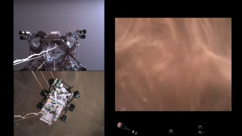 Watch This Video of Perseverance's Terrifying Mars Landing