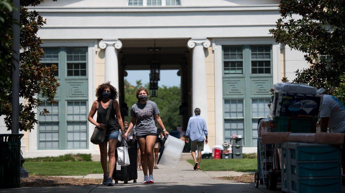 No Wifi, No AC: Inside the Chaos of 1,400 COVID Cases at University of South Carolina
