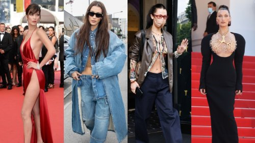 A guide to Bella Hadid's style evolution