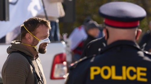 As Police Make Arrests, Some Anti-Maskers Are Trying to Cash In
