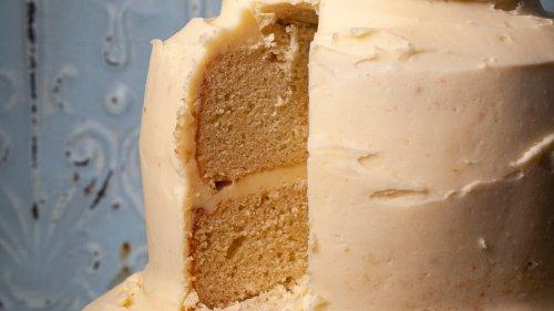 Three Layer Vanilla Cake Recipe