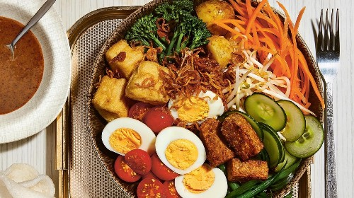 Gado-Gado Salad with Peanut Sauce Recipe