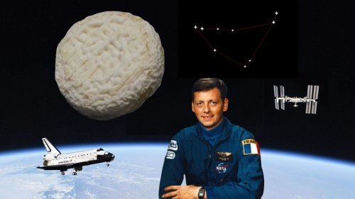 Le jour où du fromage français a voyagé dans l'espace pour la première fois