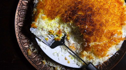 Steamed Persian Rice with Tahdig Recipe