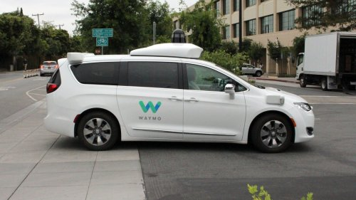 Futuristic Self-Driving Car Hits Person the Old Fashioned Way