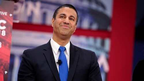 Gigantic Asshole Ajit Pai Is Officially Gone. Good Riddance (Time of Your Life)
