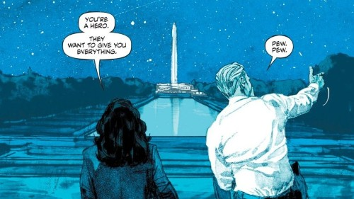 DC's Best Comic Right Now Is Not So Quietly About the Horror of the Iraq War