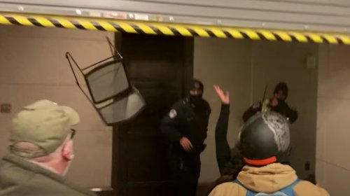 'You're Scared Now': Watch Parler Videos Rioters Filmed Inside the Capitol