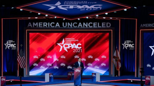 CPAC Stage Designers Swear Nazi Symbol Was an Accident and Stop Being Mean