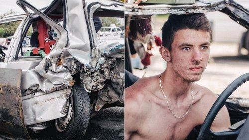 Gebrochene Rippen und zerbeultes Blech: Willkommen beim Banger Racing