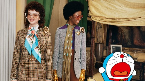 Gucci taps an anime icon and the AW21 menswear shows: what's in fashion?
