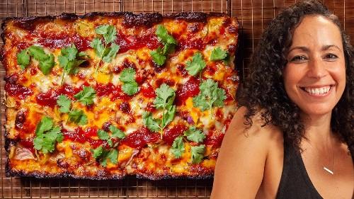 Homemade Detroit-Style Pizza