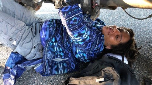 Protesters Chained Themselves to a Semi Truck to Stop the Next Big US Oil Pipeline
