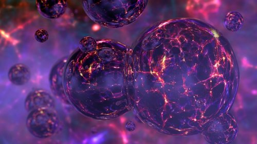 Scientists May Have Detected a Huge Collision Between Blobs of Dark Matter