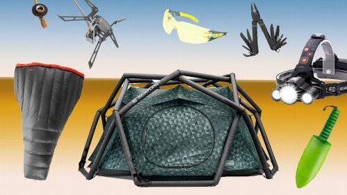 This High-Tech Camping Gear Will Make You Feel Like You're in 'Predator'