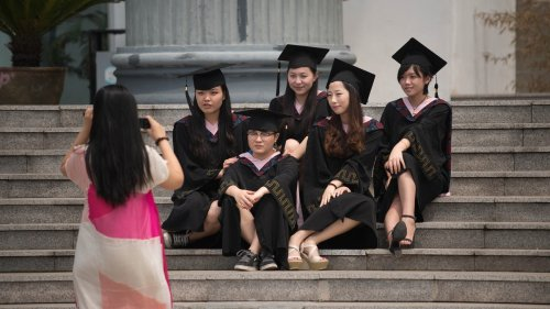 Chinese College Men Have a Sexist Women's Day Tradition