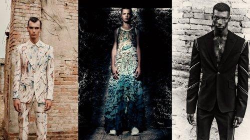 Alexander McQueen verwandelt Trostlosigkeit in Schönheit