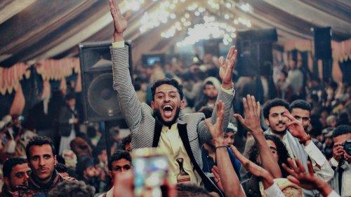 Fotos de momentos felices en medio de la guerra en Yemen