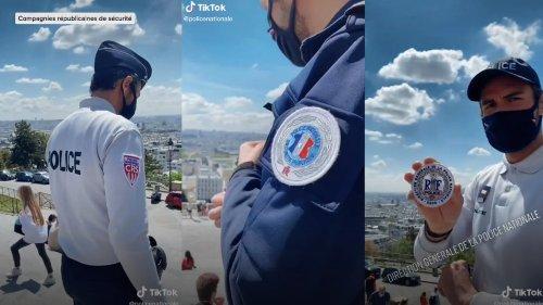 Fin du fun, la police française est sur TikTok