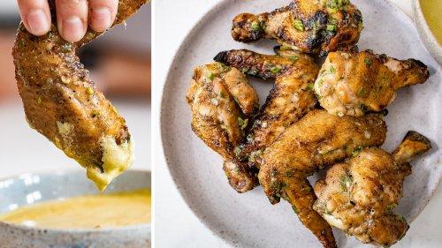 Tangy Salt & Vinegar Chicken Wings