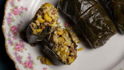 Dolmeh Barg Mo (Iranian Stuffed Grape Leaves) Recipe