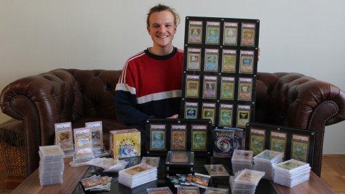 Dieser Student hat mit Pokémon-Karten eine halbe Million gemacht